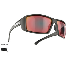 Bliz Drift Okulary, matte black/smoke/red multi